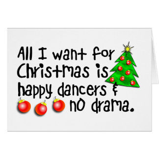 Alle, die ich für Weihnachten will Karte