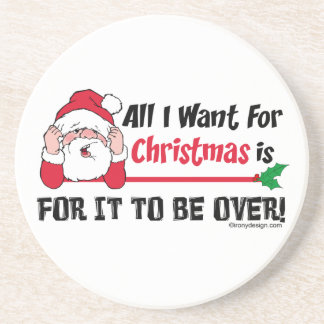 Alle, die ich für Weihnachten will Untersetzer