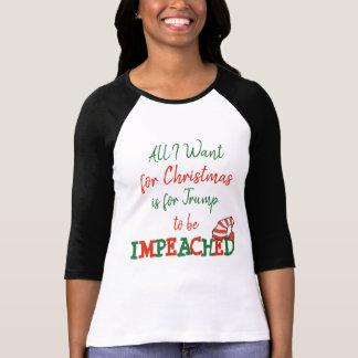 Alle, die ich für Weihnachtstrumpf angeklagtes T-Shirt