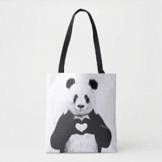 Alle, die Sie benötigen, ist Liebe Tasche