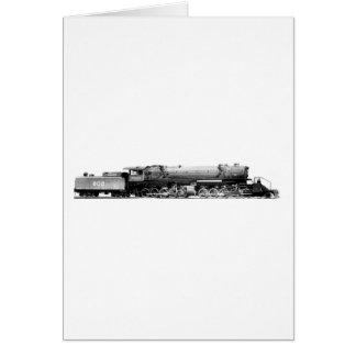 Alle Eisenbahn-Lokomotive Karte