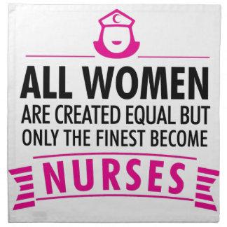 Alle Frauen sind geschaffenes Gleichgestelltes - Serviette