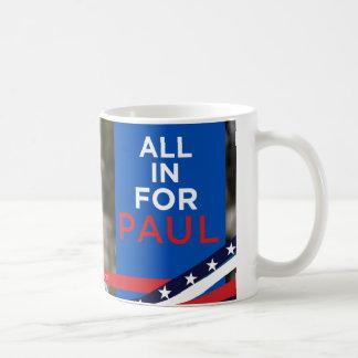 Alle für Paul - Gesichts-Tasse Kaffeetasse