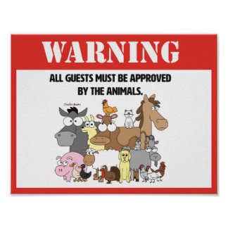 Alle Gäste müssen anerkanntes Plakat sein