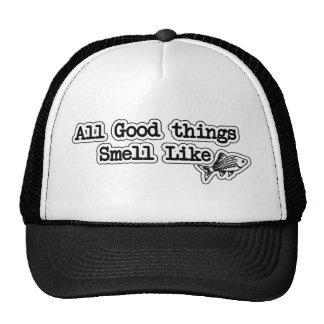 Alle guten Sachen riechen wie Fisch-lustiges Kult Cap