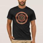 Alle hageln den Power des Atom-Vintagen Logos T-Shirt