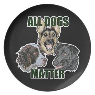 Alle Hundeangelegenheit Teller