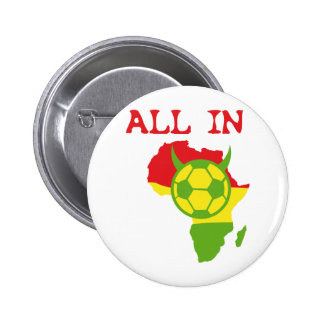 alle in Afrika Runder Button 5,1 Cm