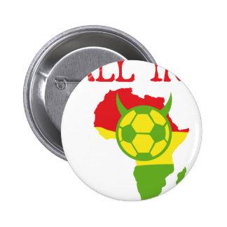 alle in Afrika Runder Button 5,7 Cm
