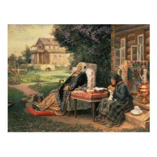 Alle in der Vergangenheit, 1889 Postkarte