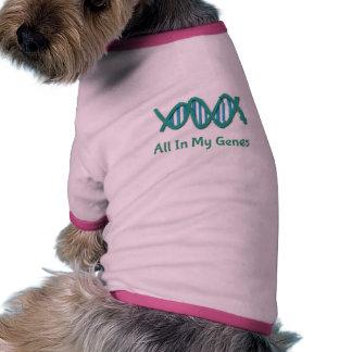 Alle in meiner lustigen Hündchen-Kleidung der Ringer Hunde-Shirt