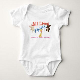 Alle Leben-Angelegenheit Baby Strampler