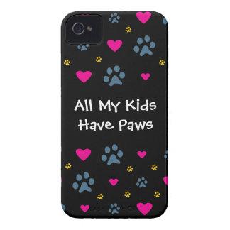 Alle meine Kind-Kinder haben Tatzen iPhone 4 Case-Mate Hüllen