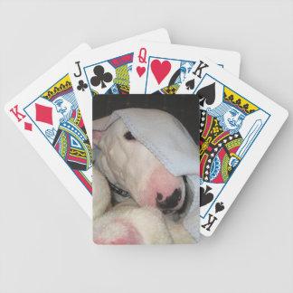 Alle oben bedeckt…. Fast! Spielkarten