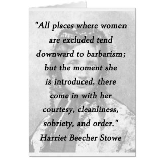 Alle Plätze - Harriet Beecher Stowe Karte