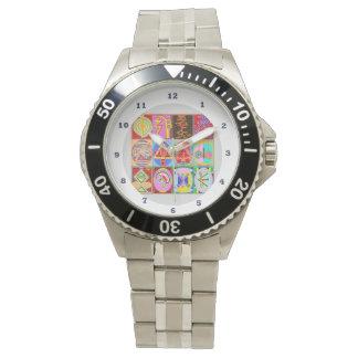 ALLE Reiki Karuna Symbole:  Mehrfache Bügel-Wahl Uhr