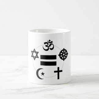 Alle Religions-gleiche Kreis-Tasse Tasse