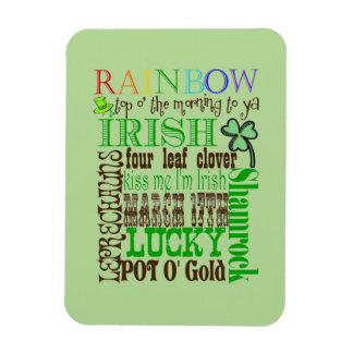 Alle Sachen irisch Magnet