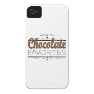 Alle Schokoladen-Lieblinge iPhone 4 Case-Mate Hülle