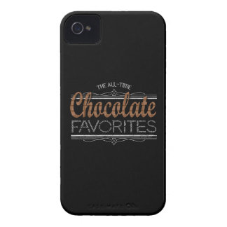 Alle Schokoladen-Lieblinge iPhone 4 Cover