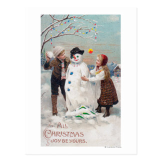 Alle Weihnachtsfreude ist- Ihre Postkarte