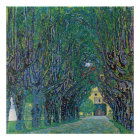 Allee in Schloss Kammer Park durch Gustav Klimt Poster