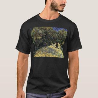 Allee mit Kastanienbäumen bei Arles - Van Gogh T-Shirt