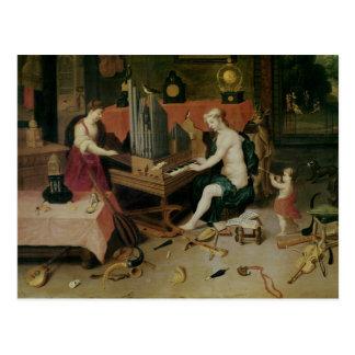 Allegorie der Anhörung, Sonderkommando eines Postkarte