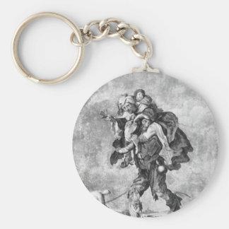 Allegorie der Armut durch Adriaen van de Venne Schlüsselanhänger