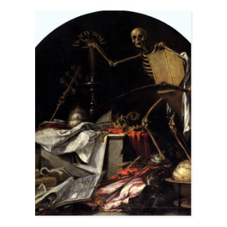 Allegorie des Todes: In Ictu Oculi durch Juan de Postkarte