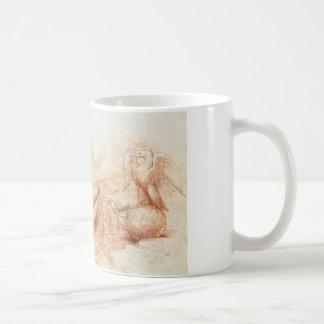 Allegorie durch Leonardo da Vinci Kaffeetasse