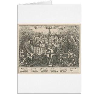 Allegorie, welche die Versöhnung Gent Adriaen Karte