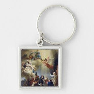 Allegorie zu Ehren der Geburt von Henride Schlüsselbänder