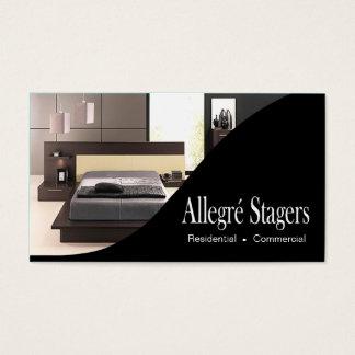 Allegré Stagers-Zuhause, das Innenarchitektur Visitenkarten