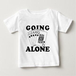 Allein gehen baby t-shirt