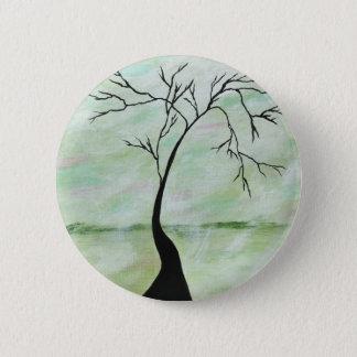 Allein wartete ich abstrakte runder button 5,7 cm