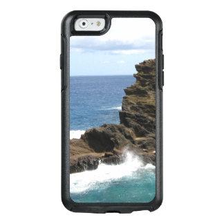 Alleine Zahl auf einer Klippe OtterBox iPhone 6/6s Hülle