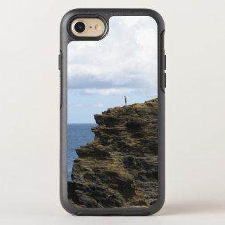 Alleine Zahl auf einer Klippe OtterBox Symmetry iPhone 8/7 Hülle