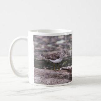 Alleiner Flussuferläufer Kaffeetasse