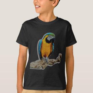 AlleinT - Shirt des orange Papageien