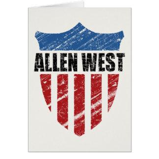 Allen West Karte
