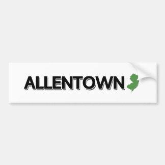 Allentown, New-Jersey Autoaufkleber