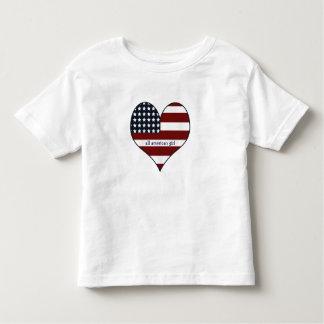 Aller amerikanische Mädchen-T - Shirt