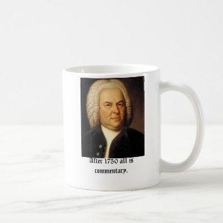 Aller Bach, nach 1750 ist Kommentar Kaffeetasse