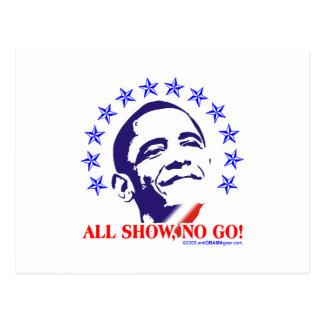 Aller Barack Obama zeigen Ausschuss- Postkarte