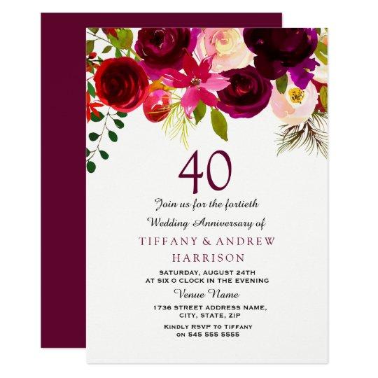 40 Hochzeitstag Name 40 Hochzeitstag Spruch 2018 At