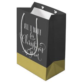 Aller, den ich für Weihnachten will, ist Sie Mittlere Geschenktüte