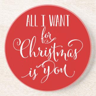 Aller, den ich für Weihnachten will, ist Sie Untersetzer