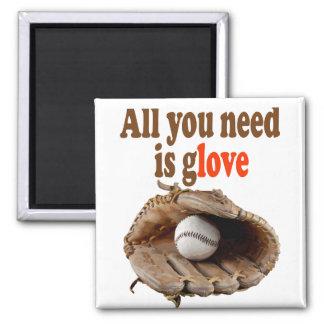 Aller, den Sie benötigen, ist Handschuh Quadratischer Magnet