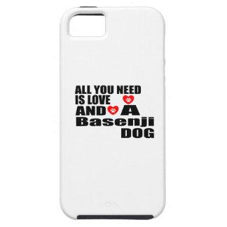 ALLER, den SIE BENÖTIGEN, IST LIEBE Basenji Hülle Fürs iPhone 5